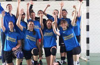 Victorie pentru tinerele handbaliste de la CS Năvodari