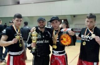 Cezar Andrieș de la CS Năvodari a câștigat centura la Chișinău