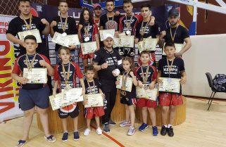 CS Năvodari Kempo K1 a câștigat 23 de medalii la Cupa Colosseum Shin Dojo