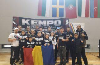 CS Năvodari a câștigat 14 medalii la Cupa Europeană de Kempo