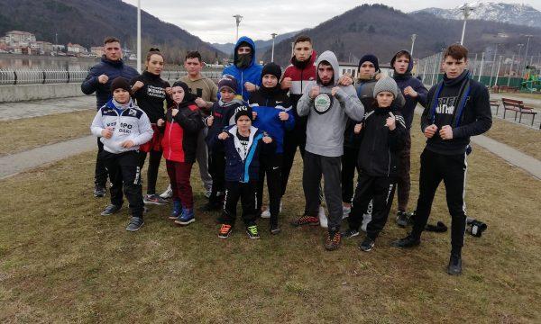 Cantonament la Călimănești pentru sportivii de la CS Năvodari Kempo
