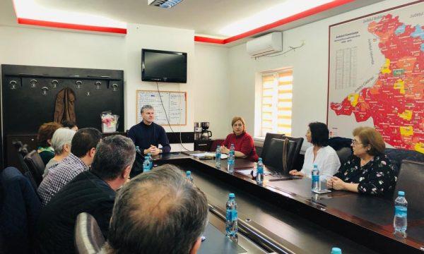 COMITETUL LOCAL PENTRU SITUAȚII DE URGENȚĂ, convocat la sediul Primăriei Orașului Năvodari