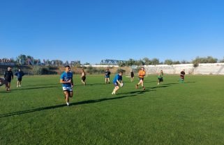 Antrenamente intense pentru rugbyștii de la CS Năvodari