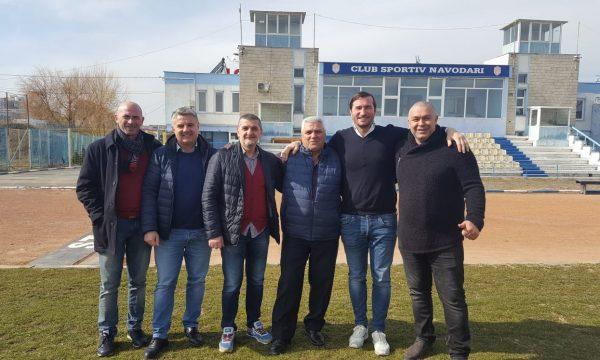 Conducerea Federației Române de Rugby în vizită la CS Năvodari
