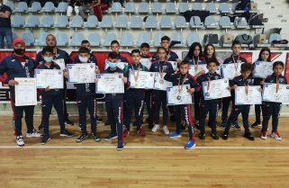 Sportivii de la CS Năvodari au câștigat 15 medalii la Campionatul Național de Semi-Kempo din Capitală